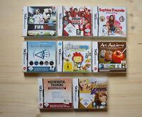 NDS - 8 Spiele für Nintendo DS in OVP (Set 10)