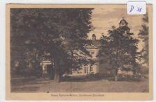 D38, Dortmund - Dorstfeld Haus Schulte - Witten gelaufen 1921 !