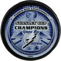 Tampa Bay Lightning 2004 Stanley Cup Finals Champions Hockey Puck