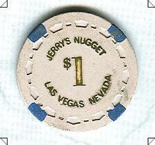 JERRYS NUGGET CASINO (LAS VEGAS) $1 CHIP (N1973) (AVG)