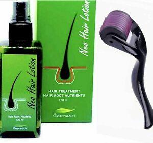 NEO Hair Growth +Derma Roller 0.50mm- Hair Loss -Hair Regrowth - Haircare - Hair