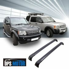 OE Style Black Roof Rail Rack Cross Bar For 2005-16 Land Rover Discovery LR3 LR4