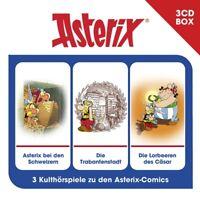 ASTERIX - ASTERIX-3-CD HÖRSPIELBOX VOL.6  3 CD NEW