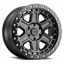 Black Rhino Reno 17X9 5X114.3 Offset -18 Matte Black / Brass Bolts (Qty of 1)