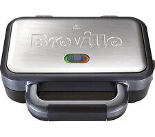 VST041 Breville Deep Fill Sandwich Toaster Stainless Steel 2 Slice 1 Year Warran