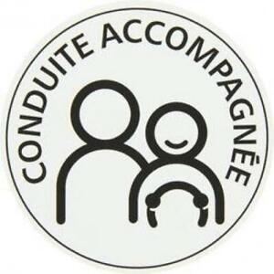Disque magnetique Conduite ACCOMPAGNEE - AAC (Apprentissage Accompagne de la...