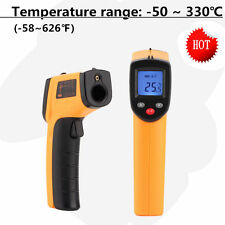 Temperature Gun Non-contact Infrared IR Laser Digital Thermometer FF