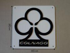 Colnago Bikes, Colnago Cycling, Acrylic Sign: B, Black & White, 190 X 190mm