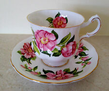 PARAGON + ROYAL STANDARD Mix Tea Cup and Saucer Duo Set Camelia Series Pink