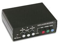 VIDEO AND RGB CONVERTER/PROCESSOR KIT