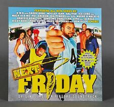 Next Friday Movie Soundtrack Poster 2-Sided Flat Promo 12x12 Ice Cube PROMO