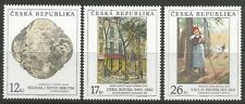 STAMPS-CZECH REPUBLIC. 2001 Art (10th Series) Set. SG: 312/14. Mint Never Hinged