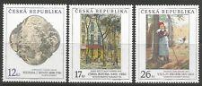 stamps-czech republic. 2001 art (10th Series) Ensemble SG : 312/14.