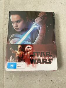 Star Wars The Last Jedi (Blu-ray Steelbook) BRAND NEW & SEALED AUS