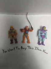 He Man Mega Bloks Three Pack Action Figures.(H)