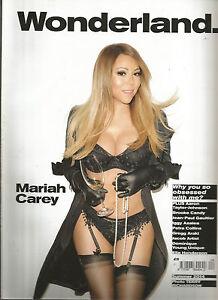 Wonderland Magazine - Summer 2014 - Mariah Carey