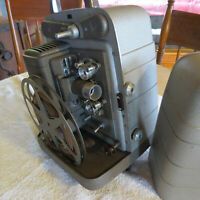 Vintage Bell & Howell MOVIE SET - Camera, Projector, Lights, Screen, More++ FUN!