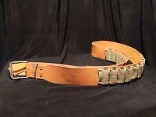 Size 36-40 Edwards-Day 400 Bullet Belt Genuine Leather Metal Buckle Boho
