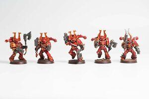 Warhammer 40K Chaos Space Marine Berserker Squad 3
