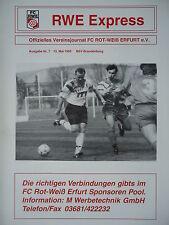 SC Charlottenburg Programm 1996//97 Rot Weiß Erfurt
