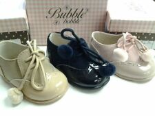 Suede Medium Width Baby Shoes with Laces