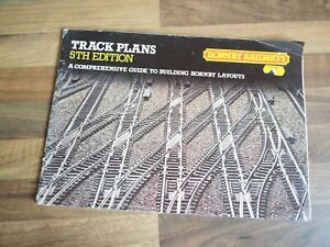 Model railway books; Hornby track plans 5th edition
