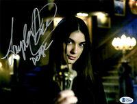 Laysla De Oliveira Signed 8x10 photo Locke & Key Dodge w/Beckett COA
