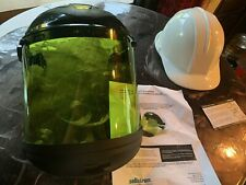 Sellstrom S31202 9.9 cal Arc Flash Complete Faceshield Unit w/ Hard Hat