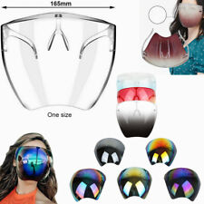 US PEE Face Shield Protective Facial Cover Transparent Glasses Visor Anti-Fog A+