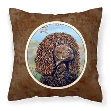 Caroline 7089Pw1414 Irish Water Spaniel Fabric Decorative Pillow, 14 H x 14 W.