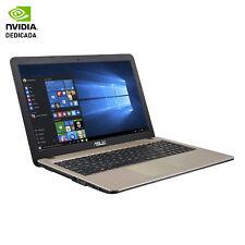 """Portátiles y netbooks ASUS color principal negro 15,5"""""""
