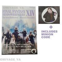 final fantasy XIV SHADOWBRINGERS The Art of Reflection FF 14 Art Book minon code