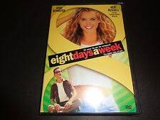 EIGHT DAYS A WEEK-Josh Schaefer,Sexy KERI RUSSELL is dweeb's love obsession-DVD