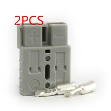 2 x ANDERSON STYLE 50 AMP PLUG CONNECTORS JOINER 50A 600V