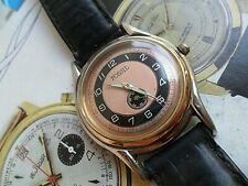 Neat Retro 1940's Style Fossil 2 Tone Dial & Case Quartz Watch Model TM-7242