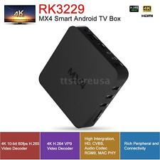 MX4 RK3229 Smart TV BOX Quad Core Android 6.0 WIFI Display 4K Video Player S9D3