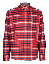 Marks and Spencer Regular Cotton Check Men's Casual Shirts & Tops