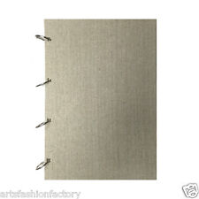 40-Sheet fabric Covered Artist Sketch Pad Paper Ring Bound Paper Pad (Set of 2)