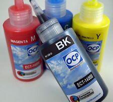 Tinta para recarga de impresoras tipo Eco Tank ET-14000 Negro y Tricolor