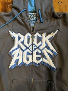 Broadway Womens Sweat-Shirt - ROCK OF AGES  - Size S - Hoodie