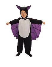 Childrens Kids Bat Halloween Costume Fancy Dress Up Toddler Age 2 3 Spooky Cute