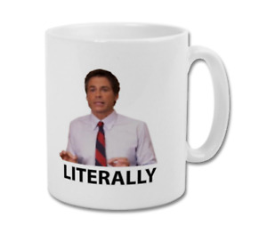LITERALLY CHRIS TRAEGER Funny Quote Parks and Recreation Collectable Coffee Mug