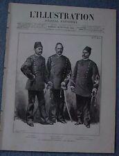 L'ILLUSTRATION 2034 DU 18/2/1882 COLONELS EGYPTE LA BOURSE  LE COMPTOIR ESCOMPTE