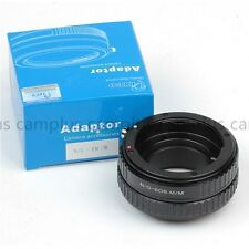 Camera Macro Focusing Helicoid Tube For Nikon F G Lens to Canon EOS M50 M100 M6