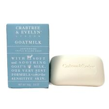 Crabtree & Evelyn GOATMILK Triple Milled Soap Goat's Milk 3.5oz Bar New in Box