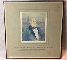 Oscar Wilde Very Rare Vinyl LP Record - Importance of Being Earnest + Free Book!