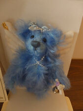 Annette Funicello Mohair Ivory 21st Angel Bear Blue Belle #381 of 20,000! NIB!