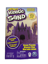 Kinetic Sand Neon Purple 8oz Activity Therapy Arts Crafts Quarantine Play