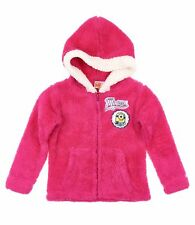 Chaqueta polar chaqueta sudadera Niñas Minions Rosa 104 116 128 140 152 #20