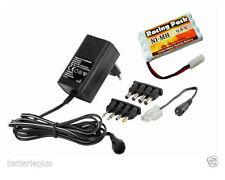 Ladegerät für Akkupack 4,8-9,6V+RC Pack 9,6V/1300mAh AA L4x2NiMH+Tamiya Stecker